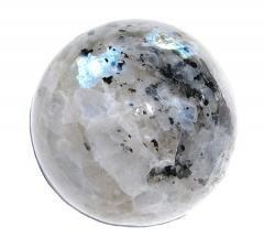 """Rainbow Peacock Moonstone Healing Sphere (2.5"""") Crystal Gemstone"""