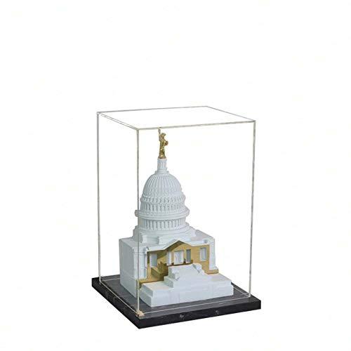 ETH Europäische Moderne Minimalistische Bauornamentik Metropolitan Museum Skulptur Reliefmodell Raum des Wohnzimmer Zubehör Halloween-Karneval (Size : 3)