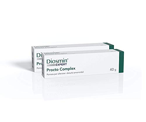 Dulàc - Diosmin Expert - Procto Complex - Spezielle Creme zur Behandlung von Hämorrhoiden - KEIN KORTISON