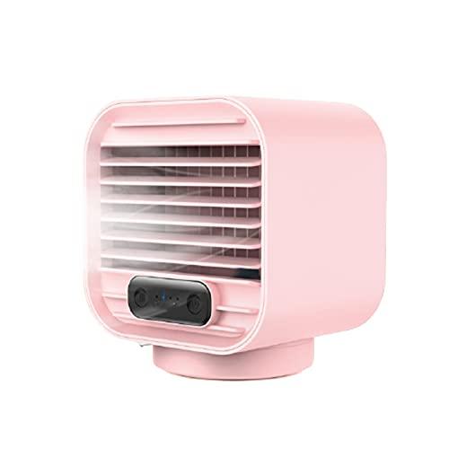 Sunmery Refrigerador de aire personal, humidificador portátil, USB, recargable, mini ventilador de pulverización para el hogar, el coche y la oficina