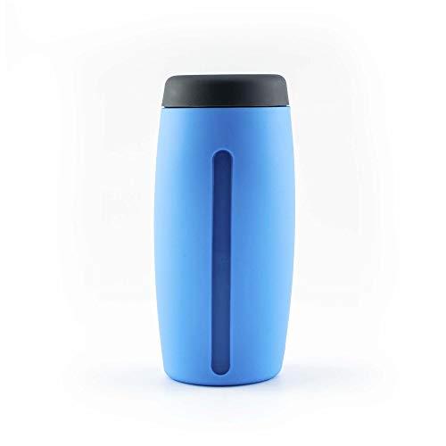 Kochblume - Dispensador de jabón líquido, dispensador de gel de ducha Cookline (azul)