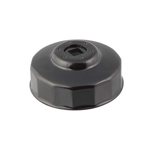 Steelman Oil Filter Cap Wrench 73mm x 14 Flute, Low-Profile Design for Confined Space, Durable Chrome Vanadium Steel