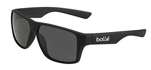 bollé Erwachsene Brecken Sonnenbrille, Black Matte, Medium