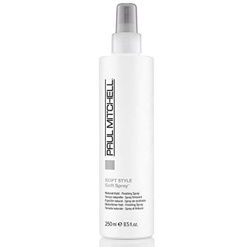 Paul Mitchell Soft Spray - Haarspray für langen Halt und natürliches Finish, Haar-Styling ideal für alle Haar-Typen in Salon-Qualität - 250 ml
