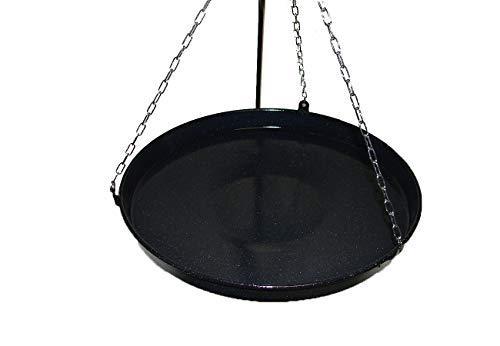 Bratpfanne Grillpfanne Paellapfanne Feuerschale rund 42cm für Dreibein-Grill