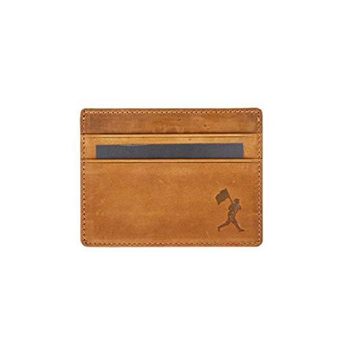 Flag Man Cardholder Wallet - Glove Leather