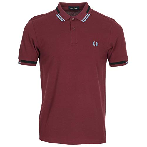 Fred Perry Abstract Tipped Polo Shirt, Polo - XL