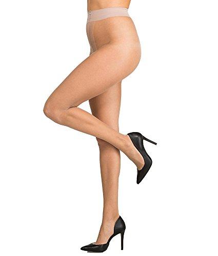 CK Women's Infinite Sheer to Waist Pantyhose, Buff, Size C