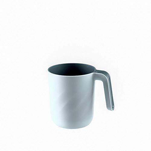 LLAAIT Nieuwe Tand Clean Cup 1 PC Badkamer Tandenborstel Cups Tandpasta Houder Straw Cup Drinkende Was Gorgelbekers 0710#30,LB