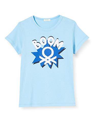 United Colors of Benetton T-Shirt Camiseta de Tirantes, Turquesa (Baltic Sea 1u8), 58 (Talla del Fabricante: 62) para Bebés