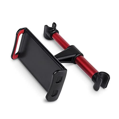 YUFENGBAIHUODIAN Flexible 360 grados de ajuste giratorio para almohada de automóvil para iPad portafle de teléfono móvil tablet soporte soporte de montaje de reposabezas de asiento trasero 5-11 pulg