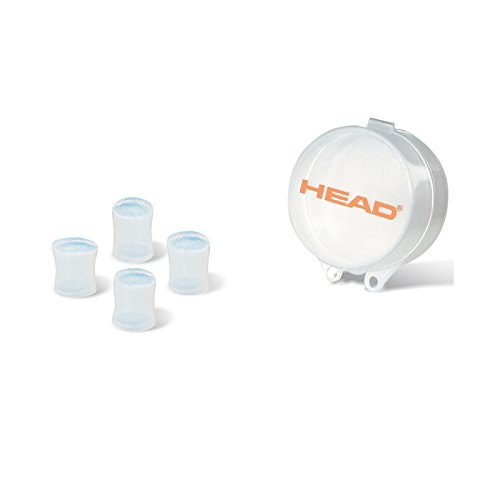 Head Swimming Ear Plugs Silicone - Moldable - Clear