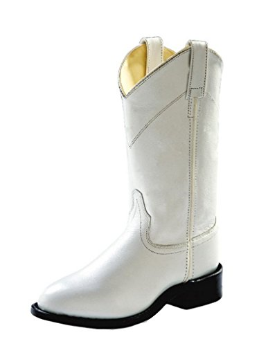 Old West Ladies Boots - Size 6 True White