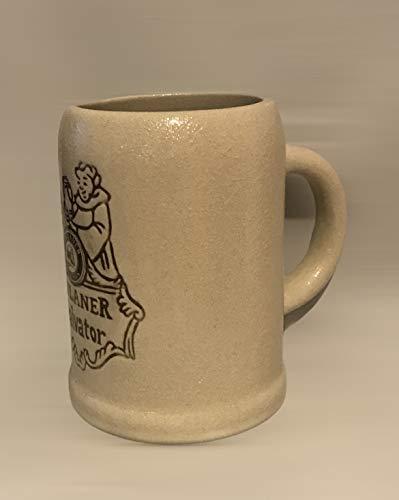 Paulaner - Boccale da birra in vetro, 0,2 l, con monete, boccale di birra, brocche, bicchieri, birra, gastronomia, bar, collezione