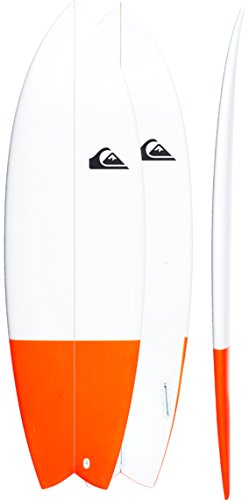 Quiksilver Euroglass Surfboard Batboard 6'2 Blue Iris/Copen Blue