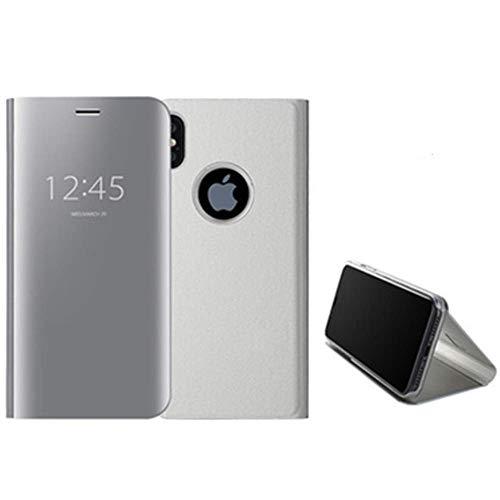 Aplicable a iPhone11 funda para teléfono móvil Apple XR chapado espejo 6plus cubierta protectora anti-caída XSMAX soporte tridimensional (solo incluye funda para teléfono móvil)