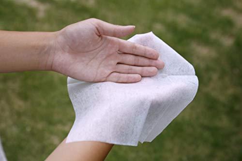 服部製紙ウエットシート天然成分アルコール除菌ホワイト大判サイズ約縦20×横30cmやわらかウェットティシュ20枚