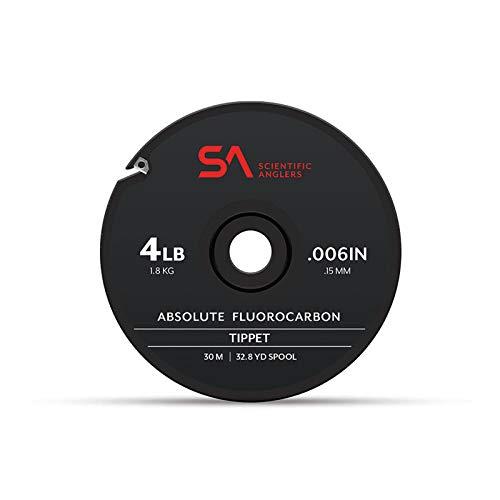 Scientific Anglers Absolute Fluorkohlenstoffstoßspitze, 30 m, farblos, 25lb