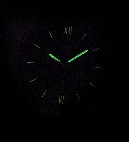 Reloj Fossil Neutra de cuarzo, de acero inoxidable, con cronógrafo, para hombre, pulsera, Plateado, Negro