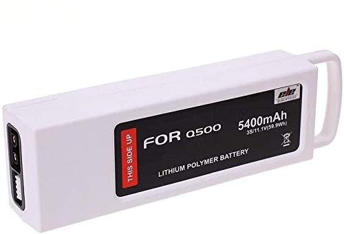 3S 5400mAh 11.1V 5C LiPO Replacement Batteries for Yuneec Q500 Q500+ Q500 4K Typhoon G RC Quadcopter