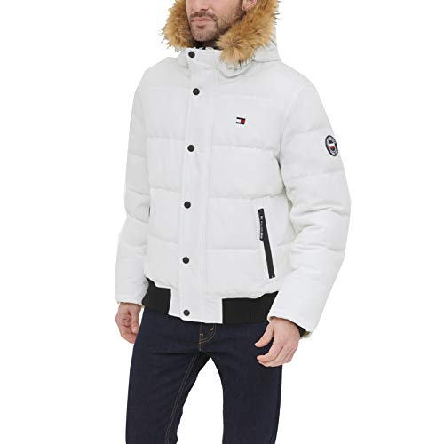 Men's White Bomber Jackets