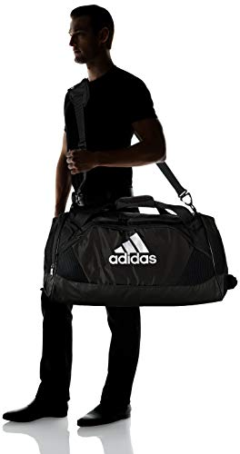 adidas Team Issue II Medium Duffel Bag, Black, ONE SIZE