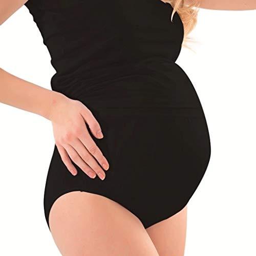 Roseanne Schwangerschaftsslip Schwarz (XL)