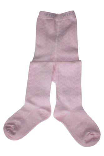 Weri Spezials Panty voor baby's en kinderen, eentonig roze