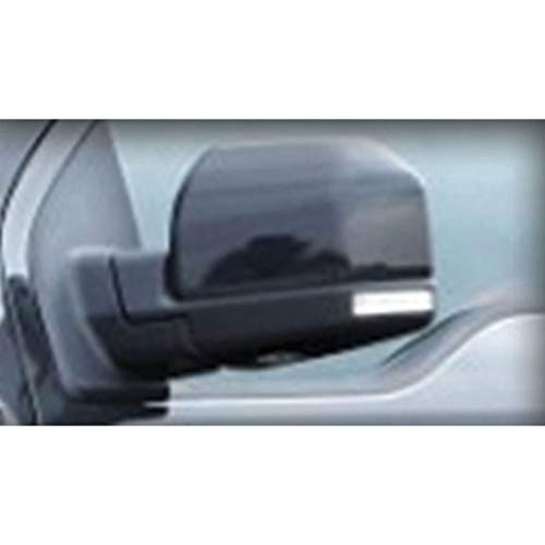 CIPA 11550 Custom Towing Mirror Set for Ford 15-Current, Black