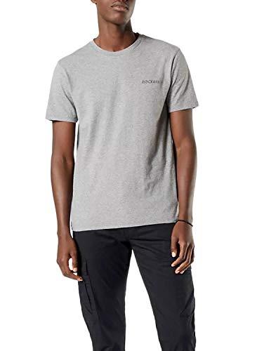 Dockers Logo Tee, Camiseta Hombre, Gris, M