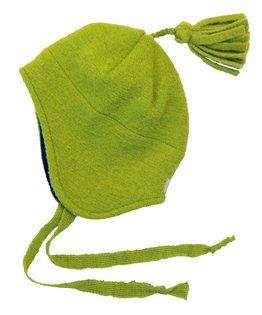 Disana Walk-Mütze 100% bio-Schurwolle/ Futter 100% bio-Baumwolle pflaume (02 (46 - 50 cm), pflaume) - 2