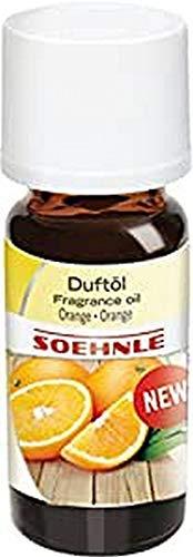 Soehnle Parfümöl Orange, Ätherische Öle für die Verwendung im Aroma Diffuser, Duftöl für die Raumbeduftung, Aroma Öl mit lieblichem, beruhigenden Duft, 10 ml