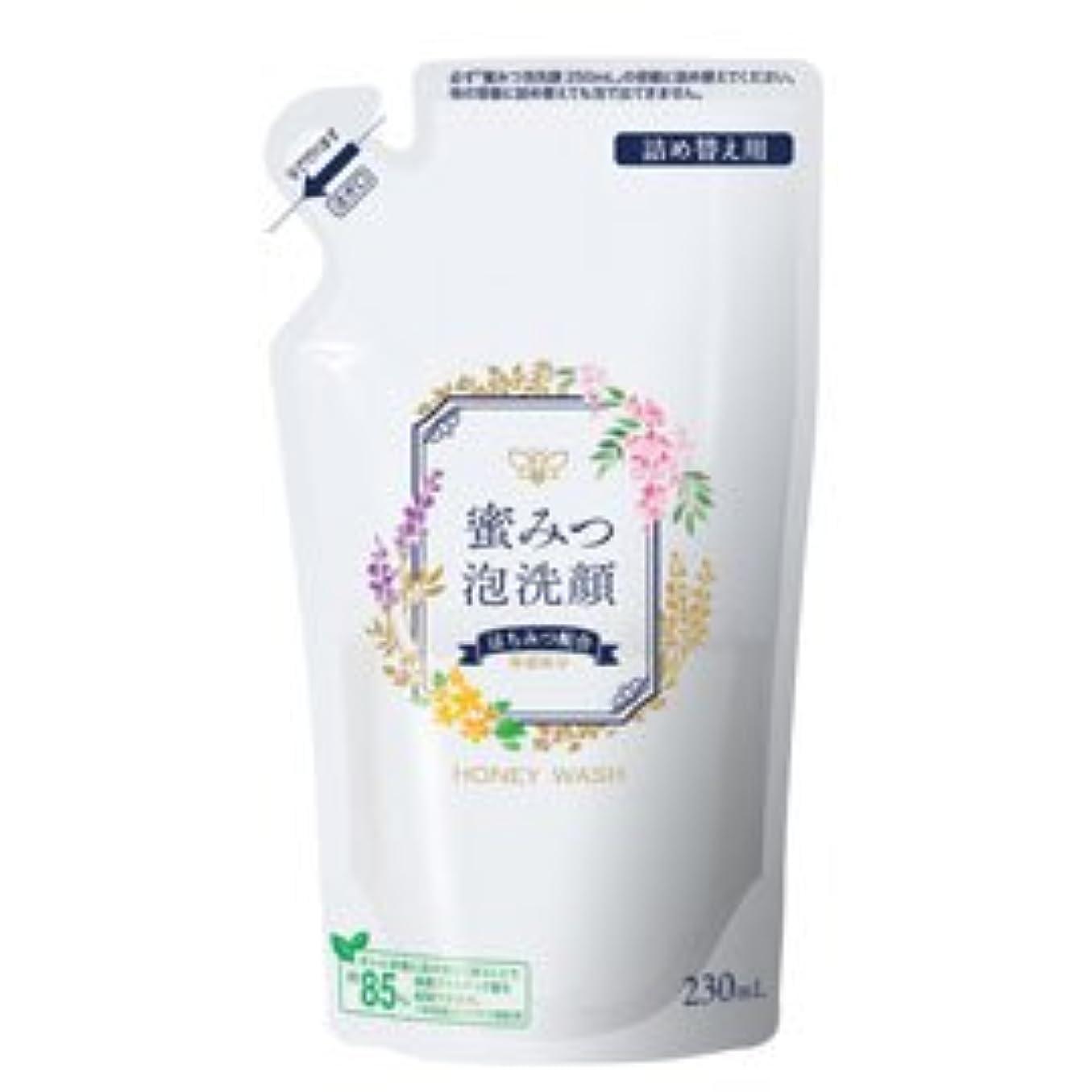 余分な困難クリーナー蜜みつ泡洗顔 230mL(詰替用)