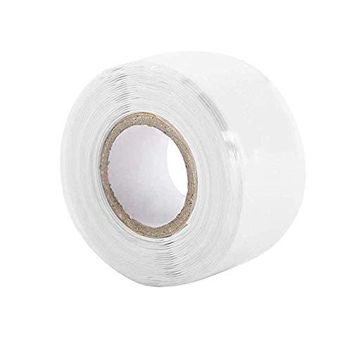 シリコンゴムテープ 自分融着テープ 25mm*3m 絶縁シリコンテープ -60℃~260℃ 難燃 耐寒 耐熱 超強力 耐摩耗性 絶縁保護 電気絶縁テープ 配管補修テープ 防水性能 ホース修理 耐熱テープ