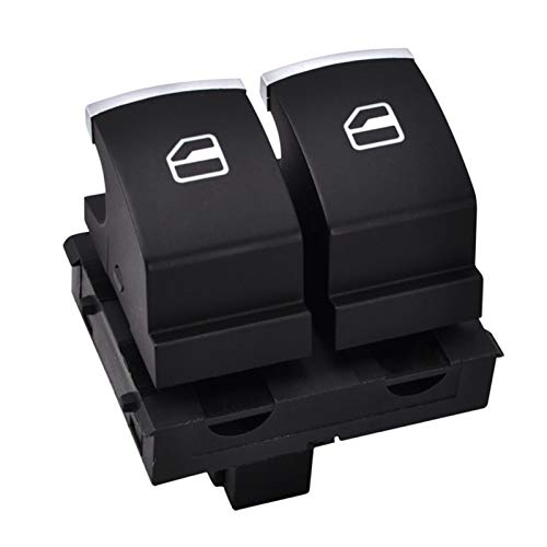 Lianlili 4 Pines ABS Front Driver Side Electric Power Switch 5K3959857 para VW/Passat/Caddy/EOS/Golf/Touran/GTI