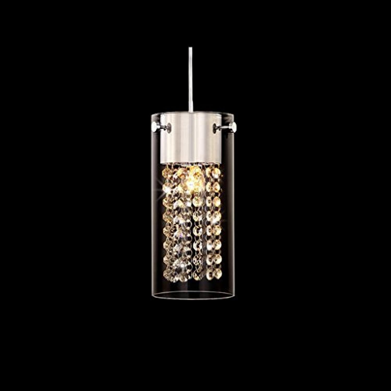 WWOWW @Beleuchtung Dekoration Kristall einfache Kronleuchter, Einzelkopf, DREI Kopf, Esszimmer Balkon Schlafzimmer Studie Lampen (Farbe   A, gre   1 Kopf)