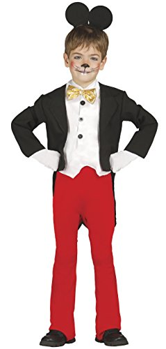 berühmte Maus - Kostüm für Kinder Gr. 98-134, Größe:98/104