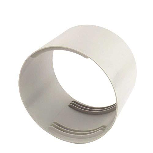 Avalita Conector roscado, conector de tubo de escape de aire acondicionado móvil adecuado para 150 mm de diámetro (M)