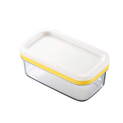 SYXX Beurre Cutter, Boîte de coupe du beurre couvert, beurre et fromage frais de maintien Boîte de rangement étanche, coupe crème Pizza cuisson outil, isotherme for la cuisine alimentaire Boîte de ran