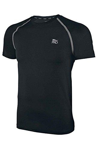 Crivit® Pro Herren Funktionsshirt Laufshirt T-Shirt Fitness Shirt Schwarz L 52/54