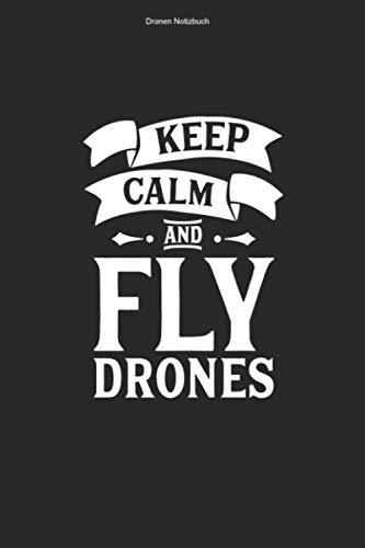 Dronen Notizbuch: 100 Seiten | Kariert | Fliegen Dronenrennen Geschenk Quadcopter Rennen Drone Lustig Flug Quadrocopter Pilot Hobby Dronenpilot Dronen Fan FPV Team