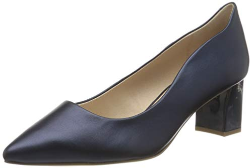 Caprice Damen Gillian Pumps, Blau (Navy Perlato 807), 37 EU
