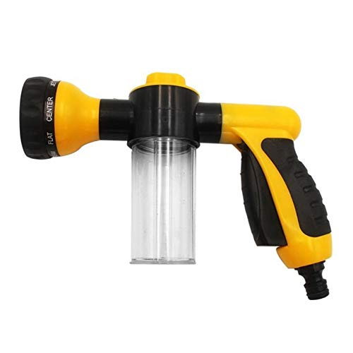 HXIANG High Pressure Garden waterpistool Auto Foam Car Washer Guns Cleaning Tools Car Wash Foam Gun Garden Washer Watering Spray Sprinkler (Color : Yellow)