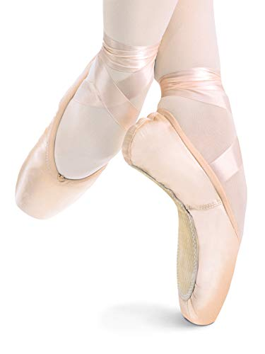 "Russian Made Adult""Elite"" Pointe Shoes ELITEMED3.5XXX 3.5XXX"
