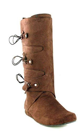 Ellie Shoes Men's Brown Renaissance Boots Small