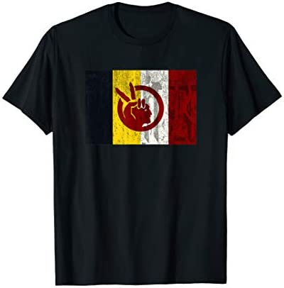 DISTRESSED American Indian Movement T Shirt product image