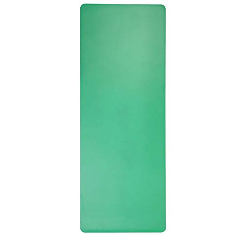 hsj LF- Esterilla de yoga para mujer, gruesa, gruesa, para principiantes, deportes, yoga, alargada, antideslizante, alfombrilla de fitness, antideslizante, color verde, tamaño: 183 x 68 x 5 mm