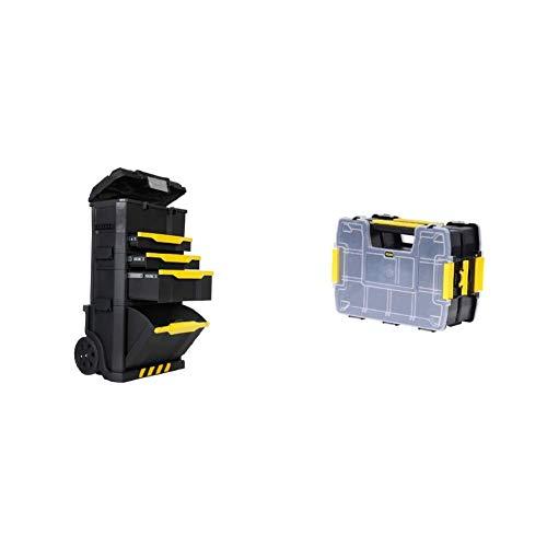 STANLEY 1-79-206 - Taller movil modular + STANLEY STST1-71197 - Bonus pack sort master lite 2 ud bonus pack