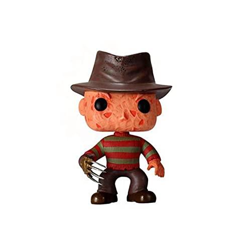 Pop Vinyl Figur Horrorfilm A Nightmare On Elm Street Freddy Krueger #02 PVC Collection Modell Action Figure Spielzeug Raumdekoration Kinder 10Cm
