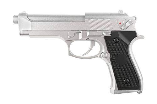 Cyma Pistola de pulverización de Plata Airsoft Aep M92 / M9 (0,5 Julios) - CM126SV